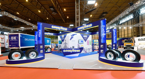 Goodyear at the Commercial Vehicle Show