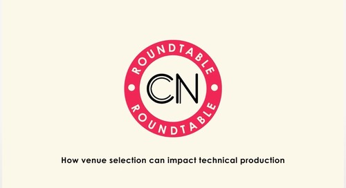 WATCH: Conference News Round Table – 'How venue selection can impact technical production'