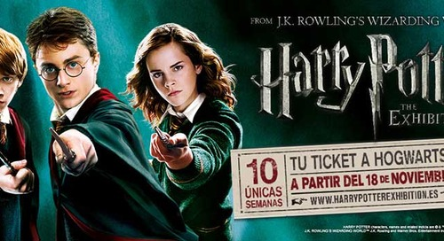 HARRY POTTER™: THE EXHIBITION IS COMING TO MADRID  STARTING NOVEMBER 18 AT IFEMA