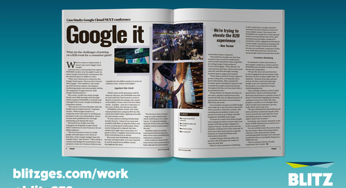 'Google it' – A behind the scenes look at the Google Cloud NEXT conference