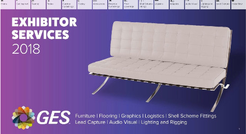 Exhibitor Services Brochure 2018