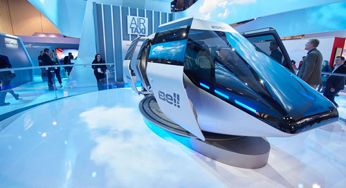 Bell Helicopter at CES 2018