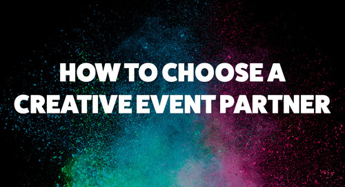 How to Choose A Creative Event Partner