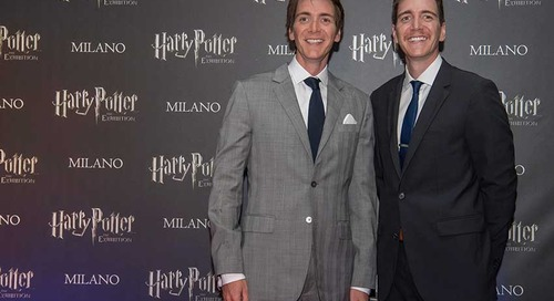 HARRY POTTER™: THE EXHIBITION  OPENS IN MILAN ON SATURDAY