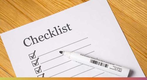 First Time Exhibitor Checklist