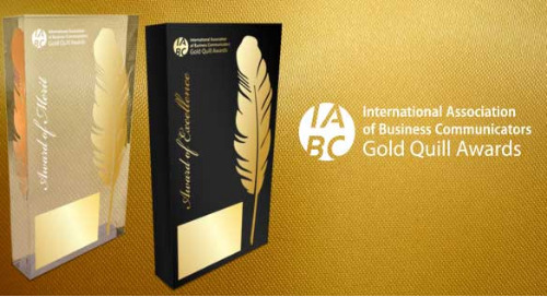 GES Wins Prestigious 2018 Gold Quill Award