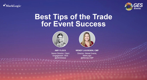 The Best Tips of the Trade for Event Success [Webinar]
