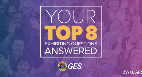 Top 8 #AskGES questions from the AEO Exhibitor Masterclass