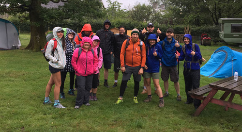 Five Peaks in Five Hours – GES Takes on the Challenge