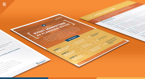 The Essential Event Marketer's AV Planning Guide [Download]