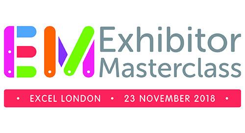 23rd November 2018 - Exhibitor Masterclass