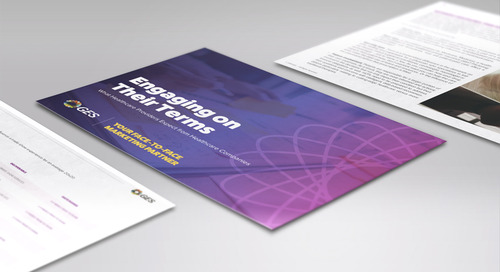 GES's Ultimate Guide for Face-to-Face Engagement with Healthcare Providers [Download]