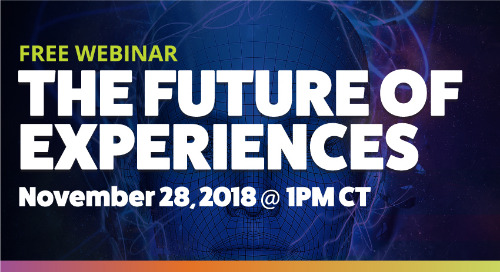 [Upcoming Webinar] The Future of Experiences