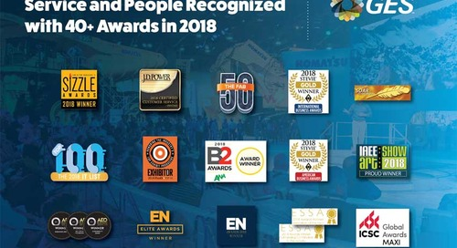 GES' Creativity, Technology, Service and People Recognized