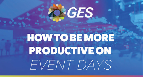 4 Quick Tips to Be More Productive on Event Days [INFOGRAPHIC]