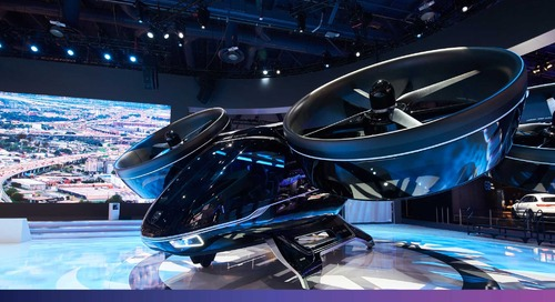 Bell Helicopter at CES 2019