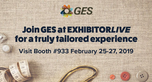 GES Invites EXHIBITORLIVE Attendees to Partake in the Bespoke Experience