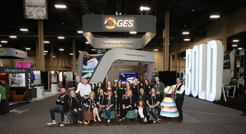 GES Wins 2019 Best of Show Best Booth Staff Award at EXHIBITORLIVE