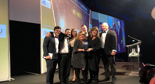 GES named 'Best Supplier to Organisers' and 'Best Supplier to Exhibitors' at the Exhibition News Awards