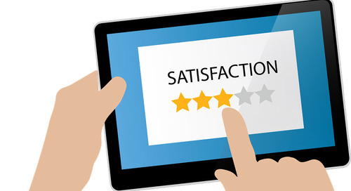 How can data affect exhibitor satisfaction?
