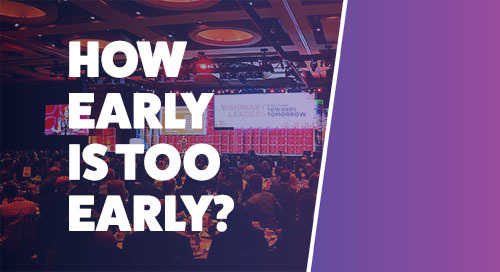 How Early is Too Early to Start Planning Your Next Exhibit? [Infographic]