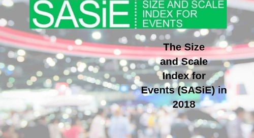 The 2018 SASiE Report: Is 'flat' is the new 'up' for UK exhibitions?