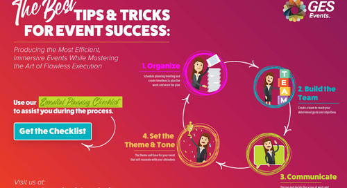 Tips and Tricks for Event Success Infographic