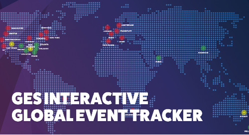 GES Launches Interactive Global Event Tracker