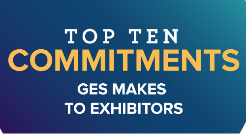 Top Ten Commitments GES Makes to Exhibitors