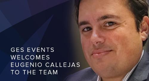 GES Events Announces Eugenio Callejas as Director Digital Technologies