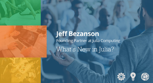 What's New in Julia - Jeff Bezanson