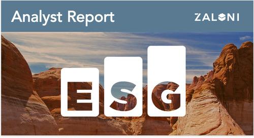 ESG Economic Value Validation Report Zaloni Bedrock