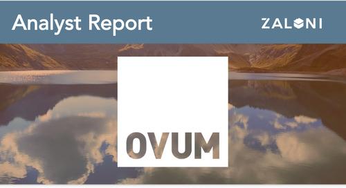Zaloni On the Radar OVUM Report