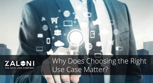 Your First Big Data Success: Choosing the Right Use Case