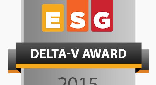 The ESG Delta-V Awards: Big Data Platforms