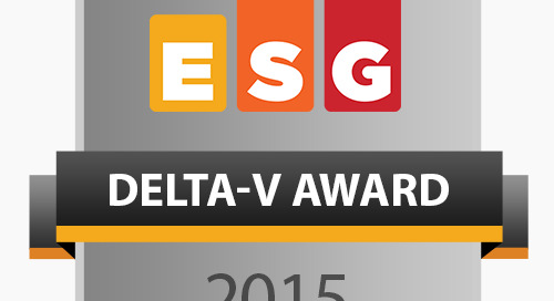 The ESG Delta-V Awards: Big Data Platforms