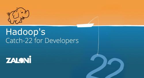 Hadoop's Catch-22 for Developers