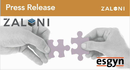 Esgyn Corporation and Zaloni Partner to Make Data Lakes More Powerful and Deliver Benefits Faster!