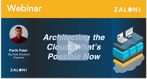 Architecting the Cloud: What's Possible Now