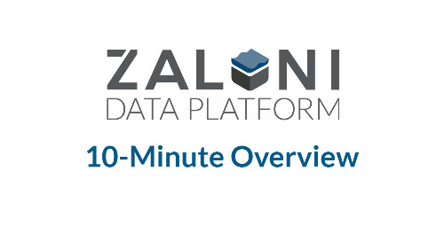 [Demo] Zaloni Data Platform: 10-Minute Overview