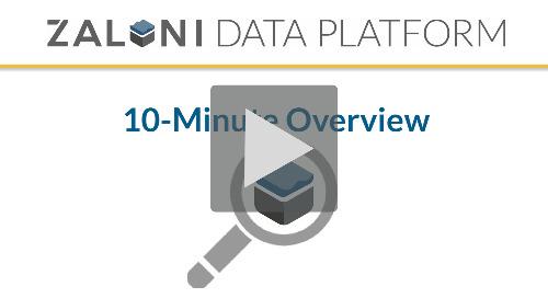 [Demo] Zaloni Data Platform: 10-Minute Overview