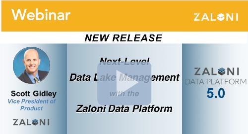 Next-Level Data Lake Management with the Zaloni Data Platform