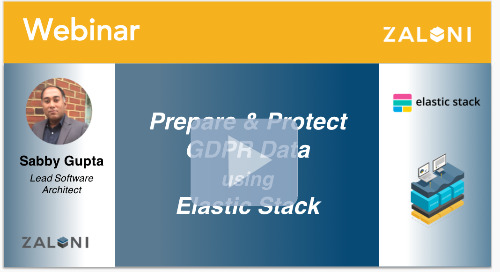Prepare and Protect GDPR Data using Elastic Stack
