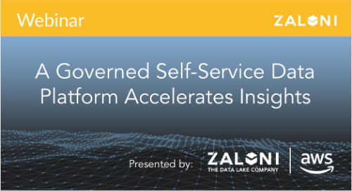 A Governed Self-Service Data Platform Accelerates Insights