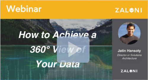 How to Achieve a 360° View of Your Data