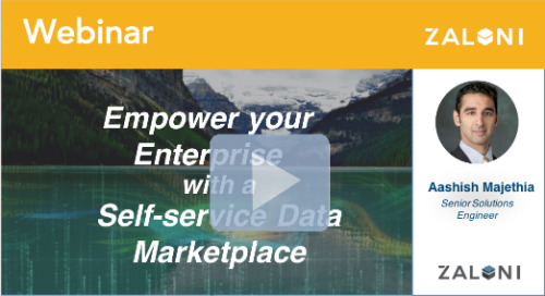 Empower your Enterprise with a Self-Service Data Marketplace