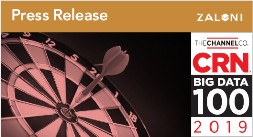 Zaloni Named to CRN's 2019 Big Data 100 List