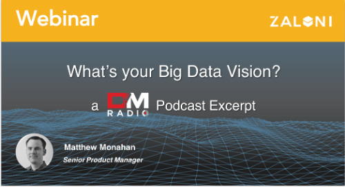 What's your Big Data Vision?