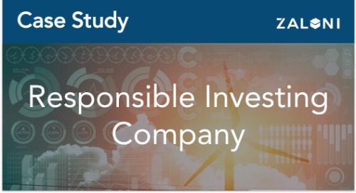 Responsible Investing Using ESG Data in a Unified Data Platform