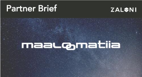 Zaloni & Maaloomatiia Partner Brief